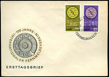 East Germany 1965 Int. Telecommunications FDC First Day Cover #C35797