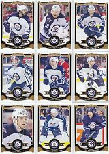 2015-16 O Pee Chee Winnipeg Jets Complete Team Set 17 Different Cards + 1 SP!