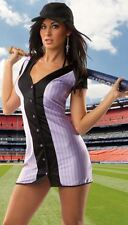 Sexy Adult Womens Coquette M6404 Baseball Player Girl Costume Small/Medium