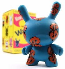 "Kidrobot ANDY WARHOL DUNNY SERIES - DOLLAR SIGNS 3"" Mini Vinyl Figure NEW"