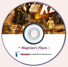 Print/Sell Your Own - VINTAGE MAGICIAN PRINTS - Restored Images on DVD Disc