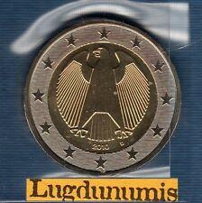 Allemagne 2010 2 Euro D Munich FDC provenant du coffret BU 48500 exemplaires