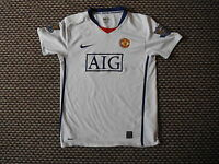 Manchester United Extra Large Boys 13/14 Yrs 158 - 170 cm Away football Shirt