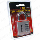 4 DIGIT COMBINATION ZINC ALLOY PADLOCK Luggage/Locker Shed Gate Secure Door Lock