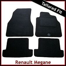 Renault Megane CC Coupe & Cabriolet Mk2 2004-2009 Tailored Carpet Car Mats BLACK