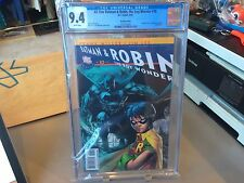 CGC 9.4 BATMAN & ROBIN THE BOY WONDER ISSUE 10 RECALLED OBSCENITIES FRANK MILLER