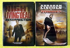 Night of the Living Dead Resurrection & Abraham Lincoln Vs Zombies New DVD Movie