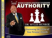 Rediscovering Kingdom Citizenship Authority - 4 Cds -  Dr. Myles Munroe