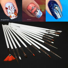 15pcs/set Nail Art Brushes Drawing Painting Dotting Nail Pen Brushes Tools