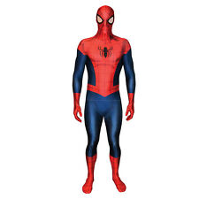 MARVEL Spider-Man per Adulti Unisex Cosplay Costume Morphsuit, grande, multi-colore