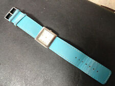 Nice Decades ladies watch, nice condition, light blue leather band runs perfect