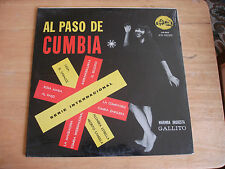 "LATIN LP MARIMBA ORQUESTA GALLITO ""AL PASO DE CUMBIA"" GUATEMALA -LP 50- ~SEALED~"