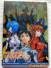 Neon Genesis Evangelion Complete Tv Series 1-26 + 2 Movies Collection DVD in USA