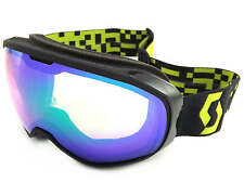 SCOTT - FIX ski snow Goggles GREY/ MACAW GREEN/ Green Chrome CAT.2 Lens 244589
