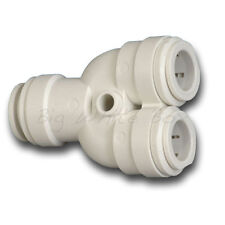 John Guest Push Fit 12mm Water Fittings – 2 Way Divider / Splitter Pipe