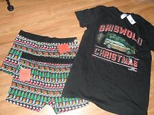 3 mens boxer briefs & t-shirt ~ large ~ National lampoon Christmas Vacation