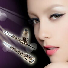 Leopard Shell Waterproof Liquid Eye Liner Eyeliner Pen Makeup Cosmetic Black OE
