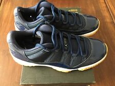 AIR JORDAN 11 RETRO LOW MIDNIGHT NAVY