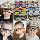 New Child Kids Children Lovely Retro Fashion Plastic Glasses Frame No Lenses