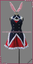 Problem Children from Another World,aren't they? Black Rabbit Dress Set Cosplay