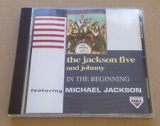 The Jackson 5 And Johnny - In The Beginning Cd Album Rare! 1994 Michael Jackson