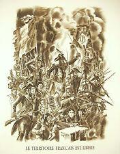 Napoléon Bonaparte Armée d'Italie discours du 6 juin 1800 A Decaris 1952 52cm