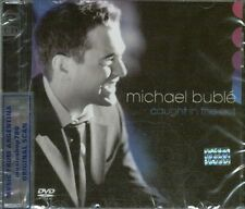 CD + DVD SET MICHAEL BUBLE CAUGHT IN THE ACT + EXTRAS SEALED NEW