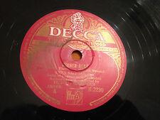 """ERNA SACK (Soprano) """"Wiener Blut""""/""""IL Carnevale Di Venezia"""" 78rpm 12"""" c1949 VG"""
