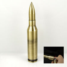 "Fashion Cigarette Refillable ""Long Bullets"" Windproof Butane Gas Lighter"