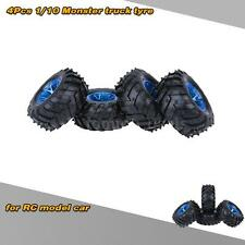4Pcs/Set 1/10 Monster Truck Tire Tyres for Traxxas HSP HPI RC Model Car G8O2