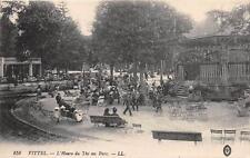 CPA 88 VITTEL L'HEURE DU THE AU PARC