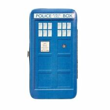 DOCTOR WHO TARDIS HINGED WALLET/PURSE - SOFT TOUCH GREAT GIFT OFFICIAL BBC
