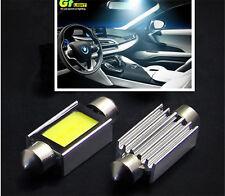 2PCS Xenon White 36mm Car COB LED License Plate Light 4W LED Bulbs 6000K