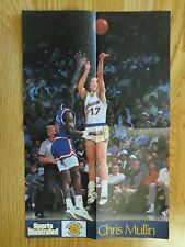 Rare Send-Away CHRIS MULLIN #17 GOLDEN STATE WARRIORS Sports Illustrated Poster