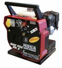 MOSA NEW MAGIC WELD 150 Mk II PORTABLE PETROL WELDER GENERATOR 110V OUTPUT