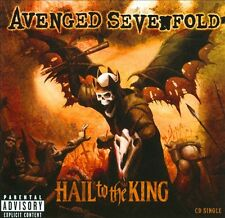 Hail to the King [Single] [PA] by Avenged Sevenfold (CD, 2013, Warner Bros.)