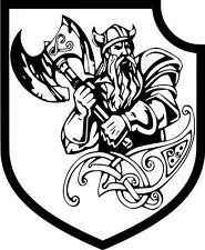 Aufnäher: Wikingerkrieger,Waffen XX Biker Odin Thor Walhall Freya