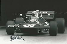 Jackie Stewart signed 12x8 Image E photo UACC Registered dealer COA