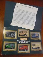 Vintage Matchbox Pills Potions & Powders Special Edition Gift Set