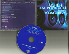 USHER & YOUNG JEEZY Love in the club 3TRX EDIT & INSTRUMENTAL PROMO DJ CD single