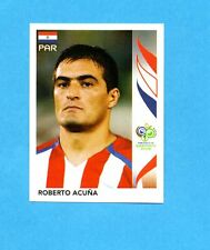 PANINI-GERMANY 2006-Figurina n.120- ACUNA - PARAGUAY -NEW BLACK