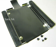 IBM Lenovo T510 T510i W510 T520 Hard Drive Caddy tray Rubber Rails & Screws
