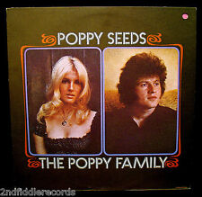 THE POPPY FAMILY-Poppy Seeds-1971 Psych Folk Album-Terry Jacks+Susan JacksLONDON