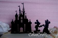 Acrilico Castello Disney Mickey & Minnie Compleanno, Matrimonio Cake Topper Decorazioni
