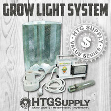 400w MULTI LAMP HPS MH GROW LIGHT System Ballast w Bulbs Sodium Halide 400 watt