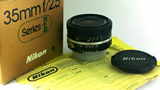 Nikon Ai-s NIKKOR 35mm f/2.5 'SERIES E' Wide-Angle Lens. 'NEW OLD STOCK' BOXED.