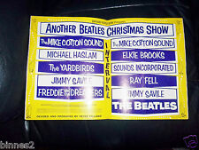 THE BEATLES - ANOTHER BEATLES CHRISTMAS SHOW 1964-65 CONCERT SOUVENIR PROGRAMME