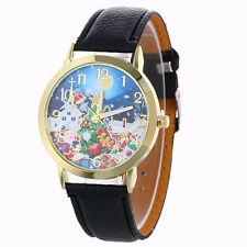 Christmas Pattern Analog Quartz Watches Christmas Gift