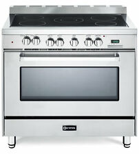 "Verona VEFSEE365SS 36"" Electric Range 5 Elements Convection Oven Stainless Steel"