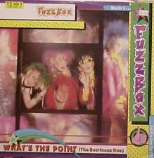 """Fuzzbox Whats The Point, Fever, Fuzzy Rambling Uk 12"""""""